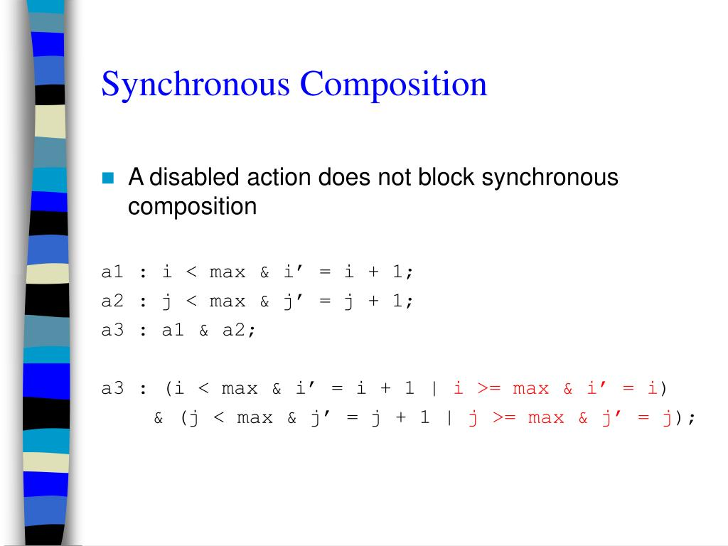 Synchronous Composition