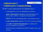 addenbrooke s collaborative commissioning