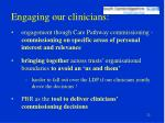 engaging our clinicians22