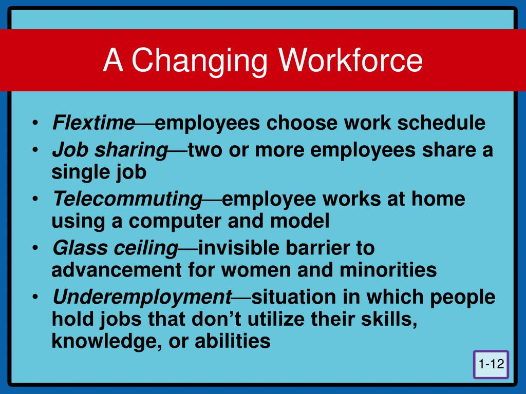 A Changing Workforce