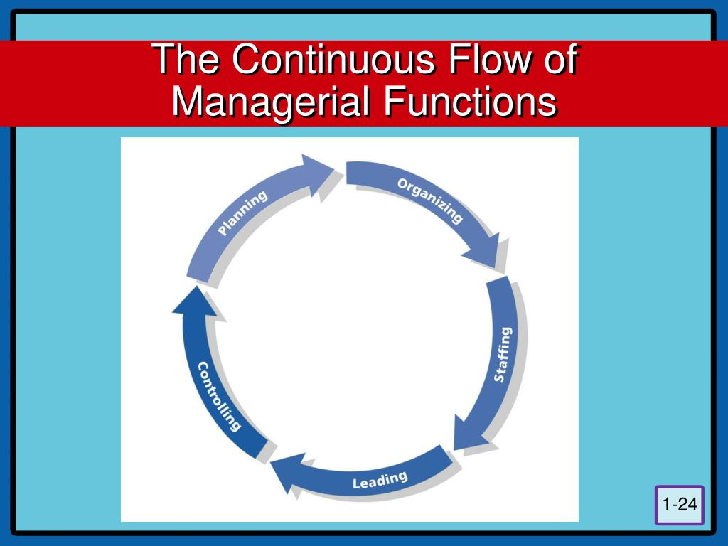 The Continuous Flow of