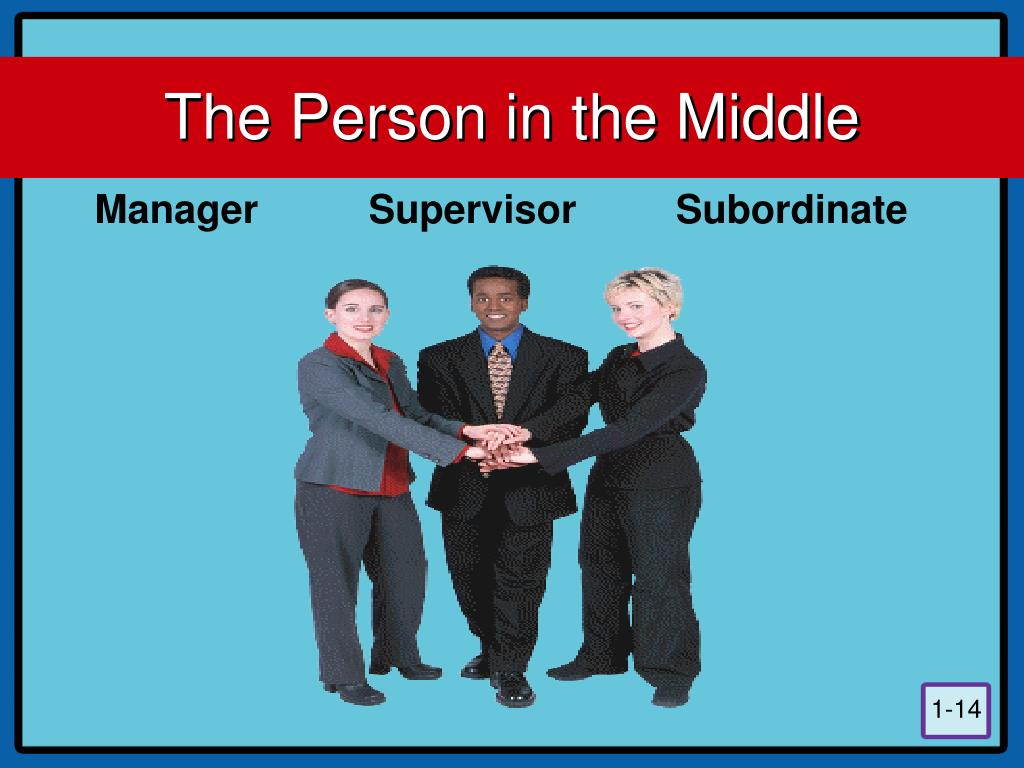 The Person in the Middle