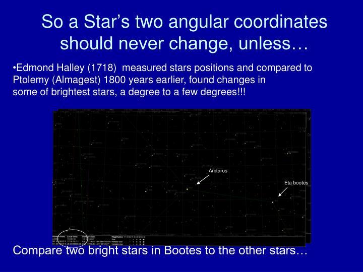 So a Star