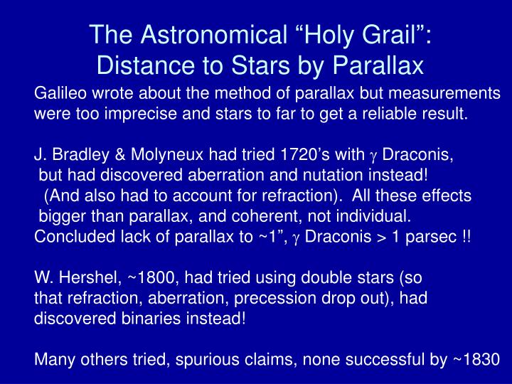 The Astronomical