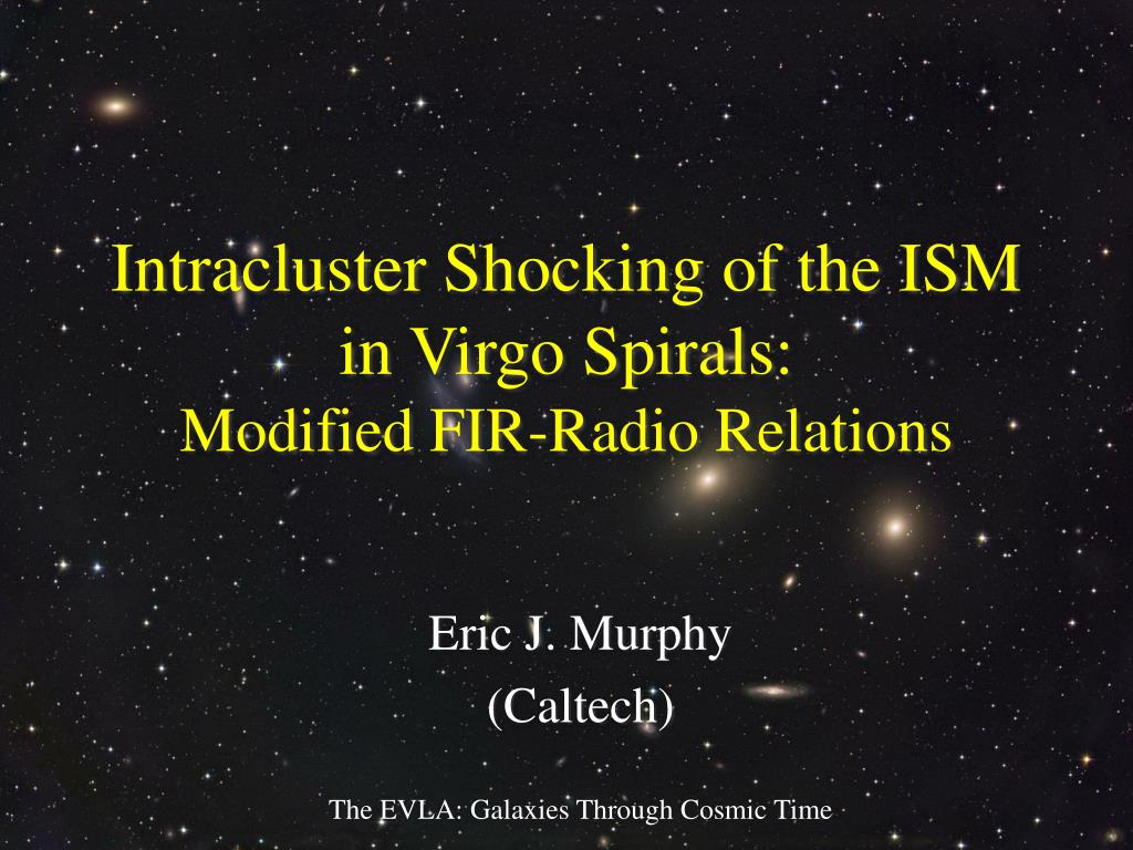 intracluster shocking of the ism in virgo spirals modified fir radio relations l.