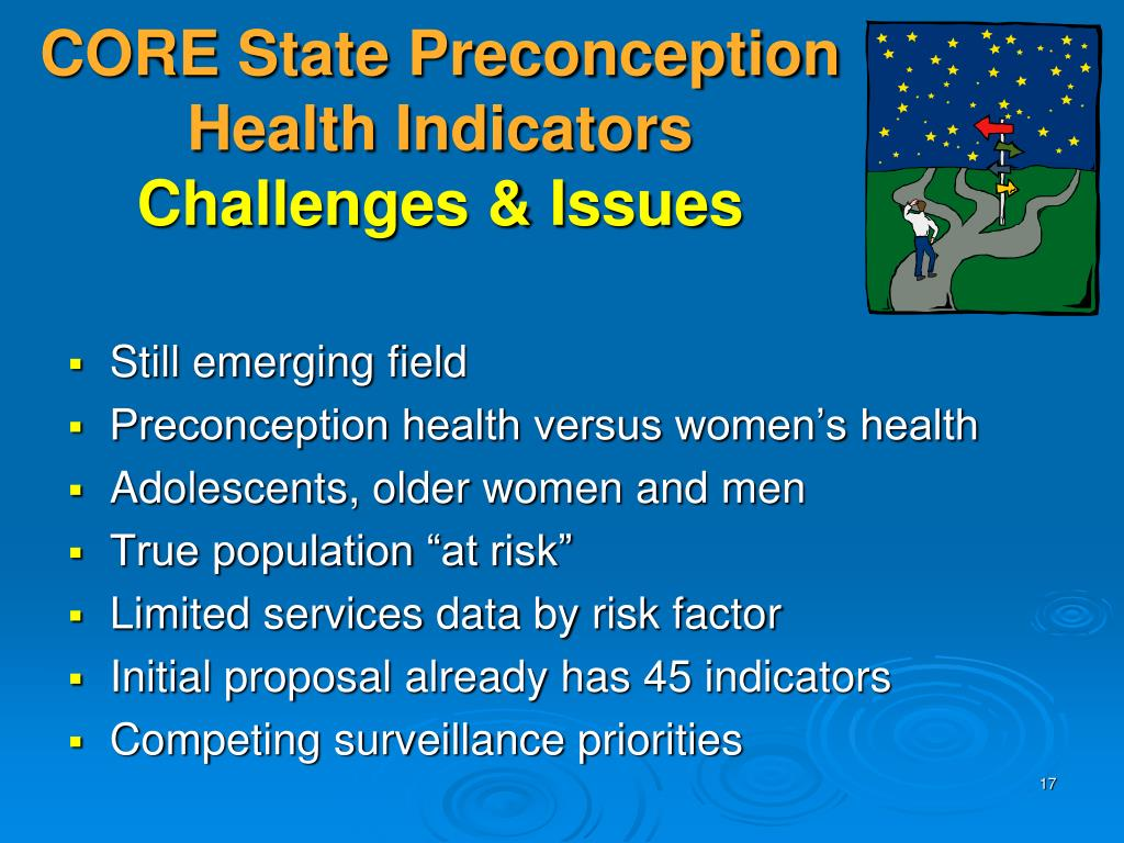 CORE State Preconception Health Indicators