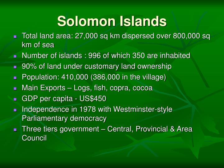 Solomon islands3