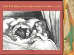 little red riding hood illustration by gustave dor