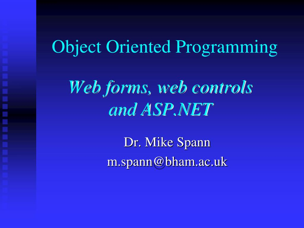 object oriented programming l.
