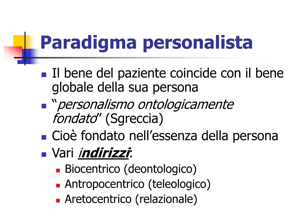 Paradigma personalista