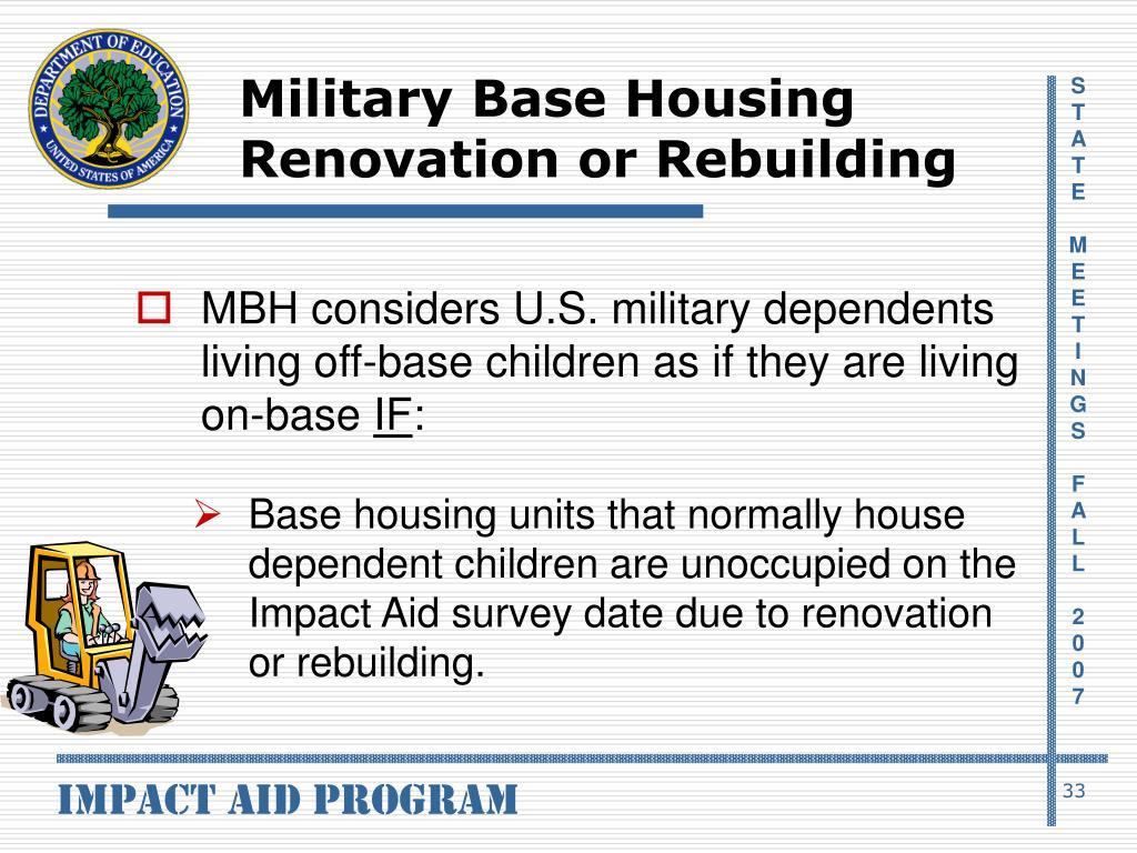 Military Base Housing