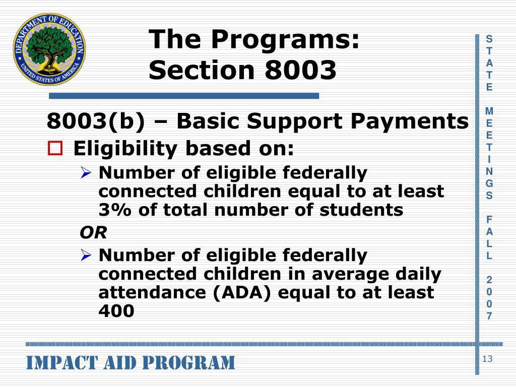 The Programs: