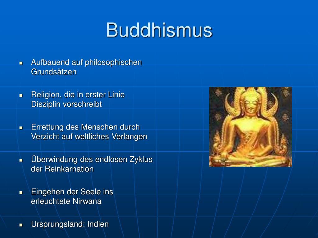 Buddhismus Powerpoint