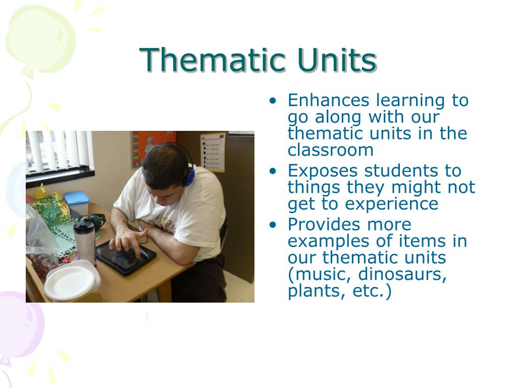 Thematic Units