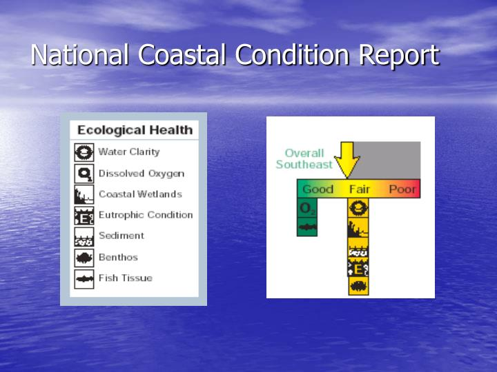 National coastal condition report3