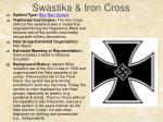 swastika iron cross
