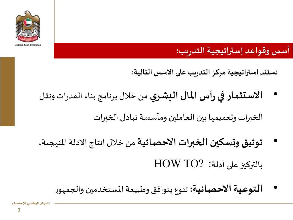 أسس وقواعد إستراتيجية التدريب:
