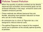 policies toward pollution15