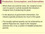 production consumption and externalities