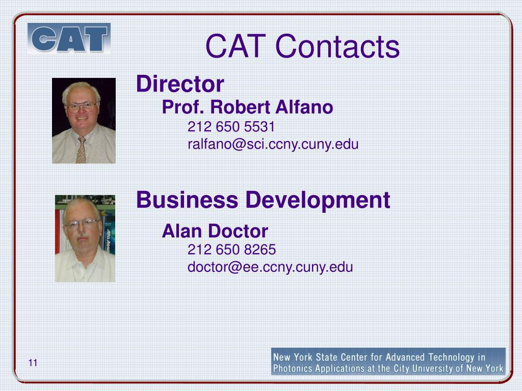 CAT Contacts