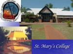 st mary s college