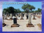 the japanese cemetery