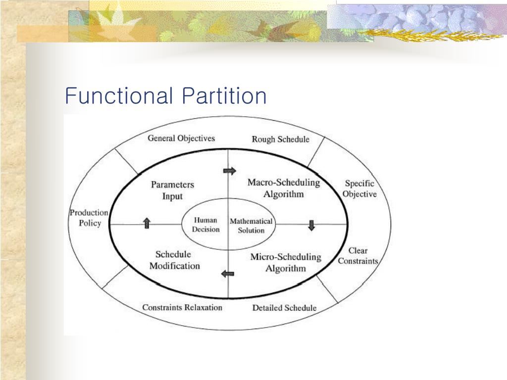 Functional Partition