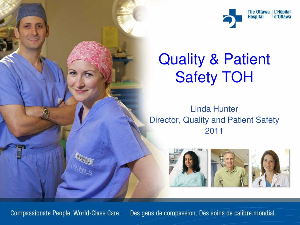 quality patient safety toh