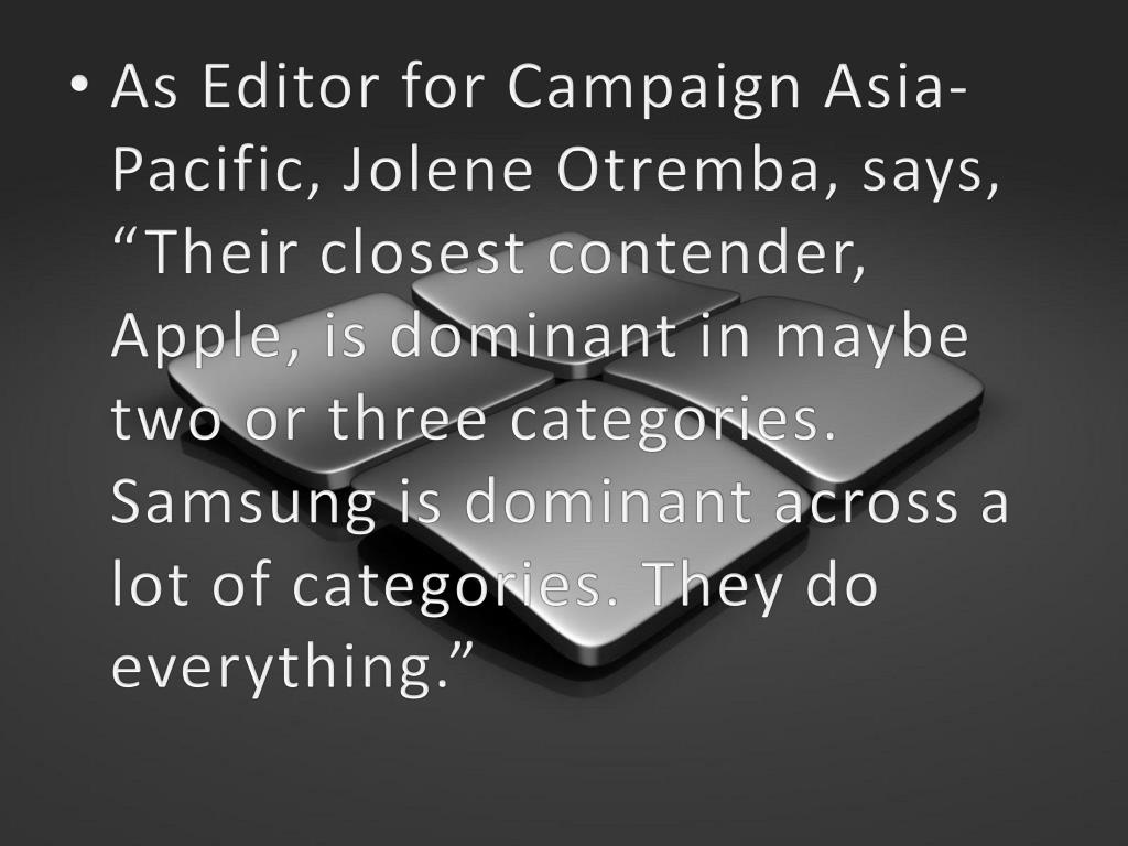 As Editor for Campaign Asia-Pacific, Jolene