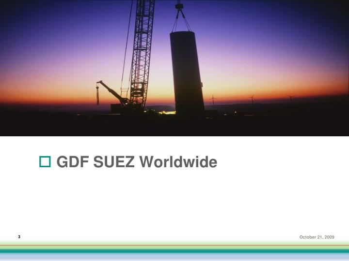 Gdf suez worldwide