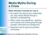 media myths during a crisis4