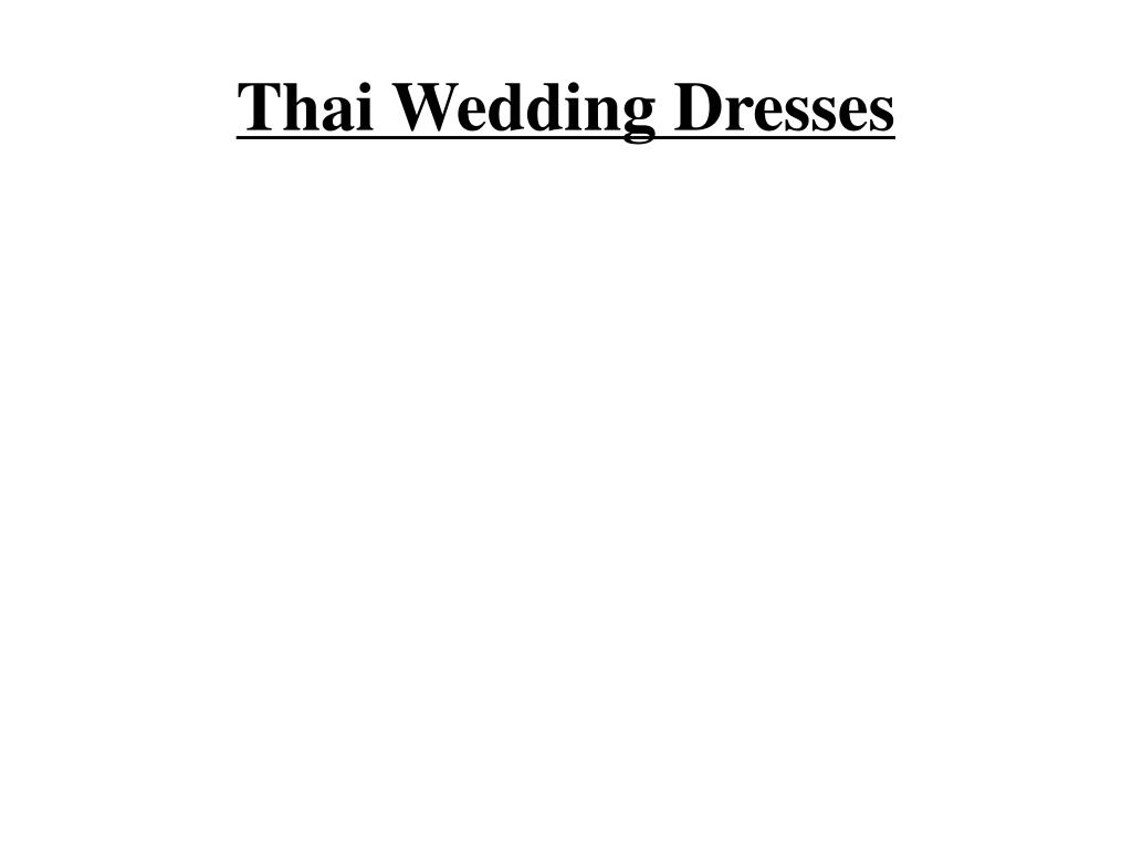 thai wedding dresses l.