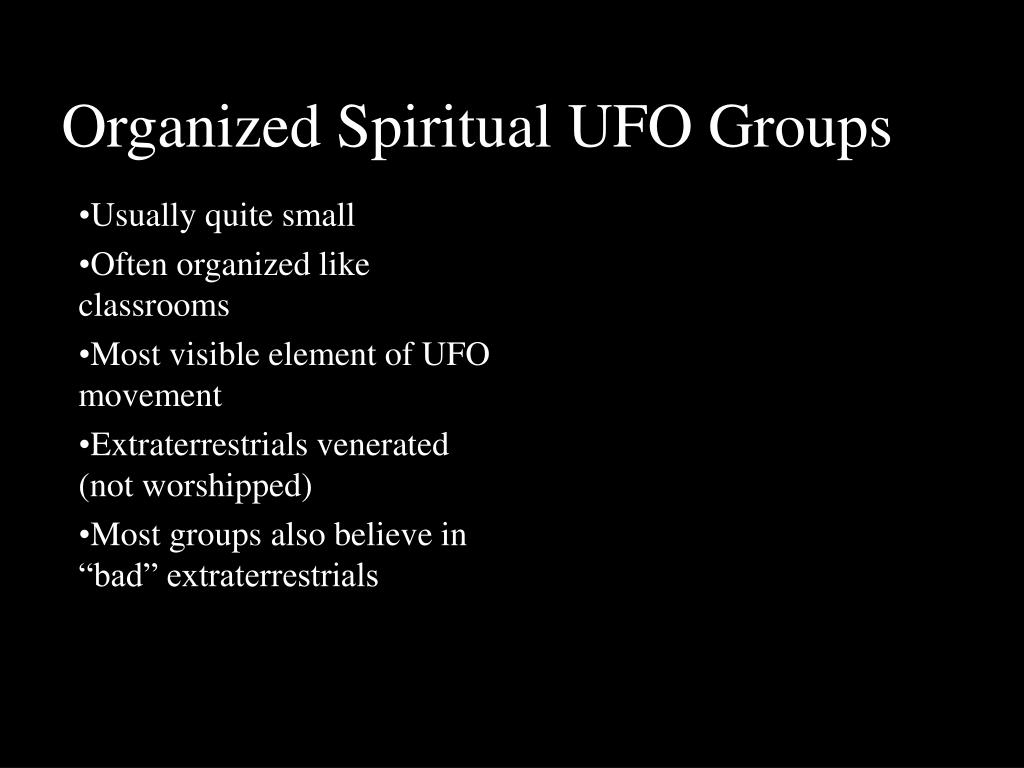 organized spiritual ufo groups l.