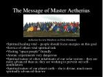 the message of master aetherius4