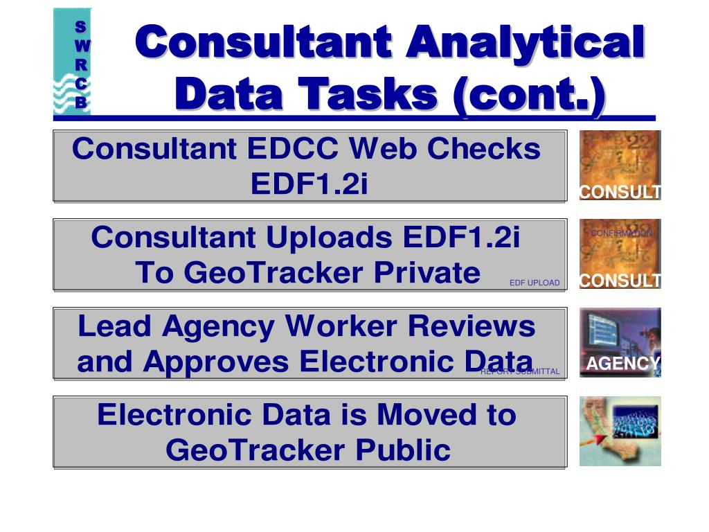 Consultant Analytical  Data Tasks (cont.)