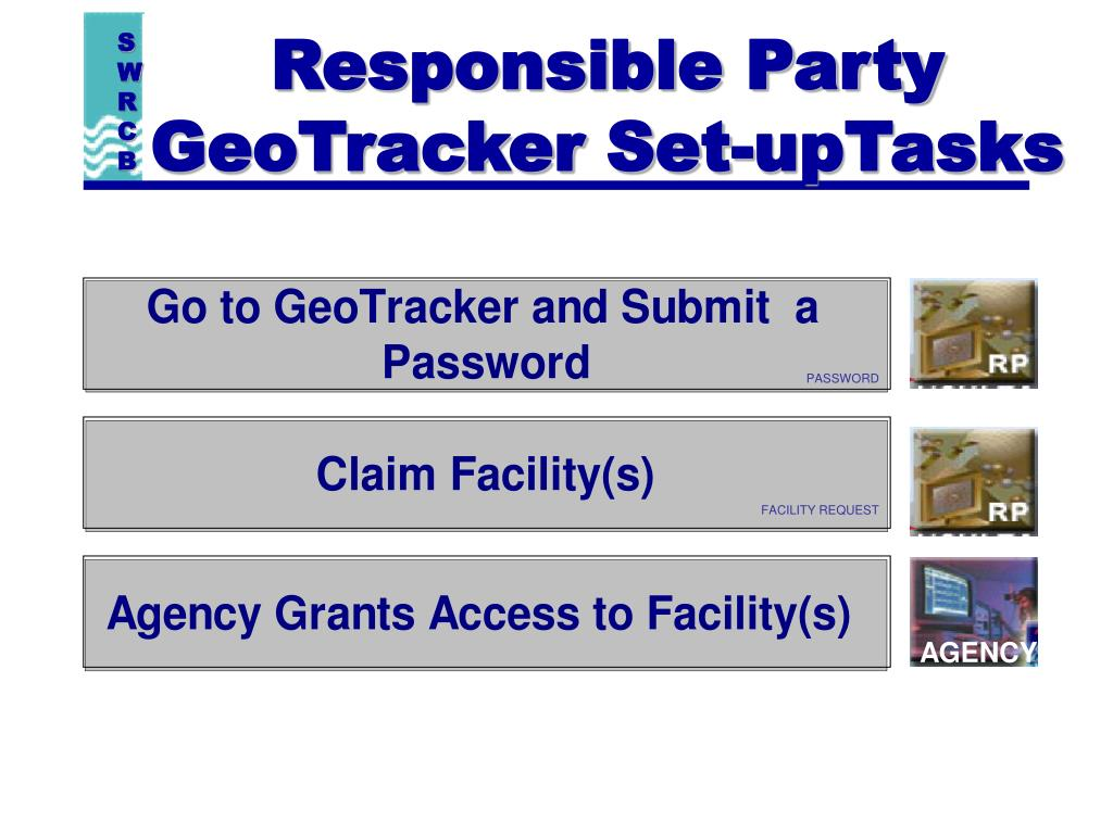 Responsible Party GeoTracker Set-upTasks