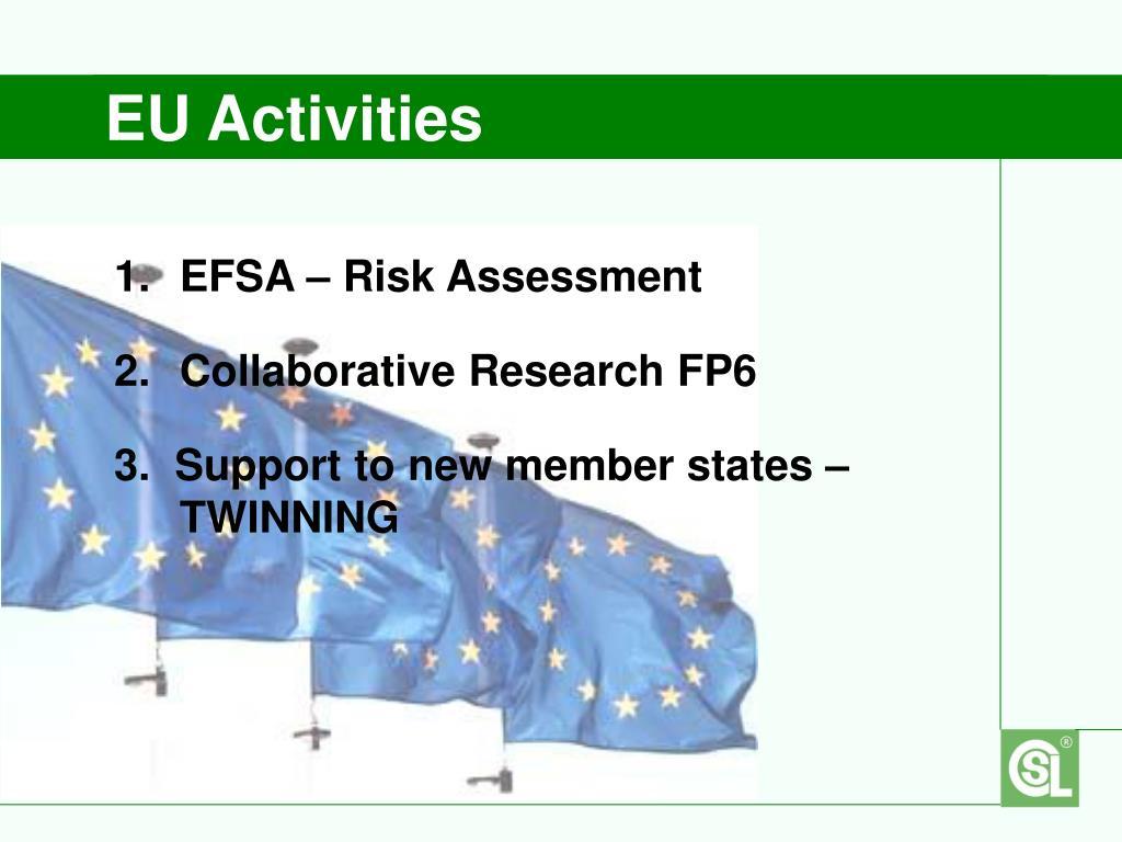 EU Activities