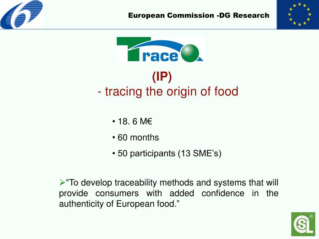 European Commission -DG Research