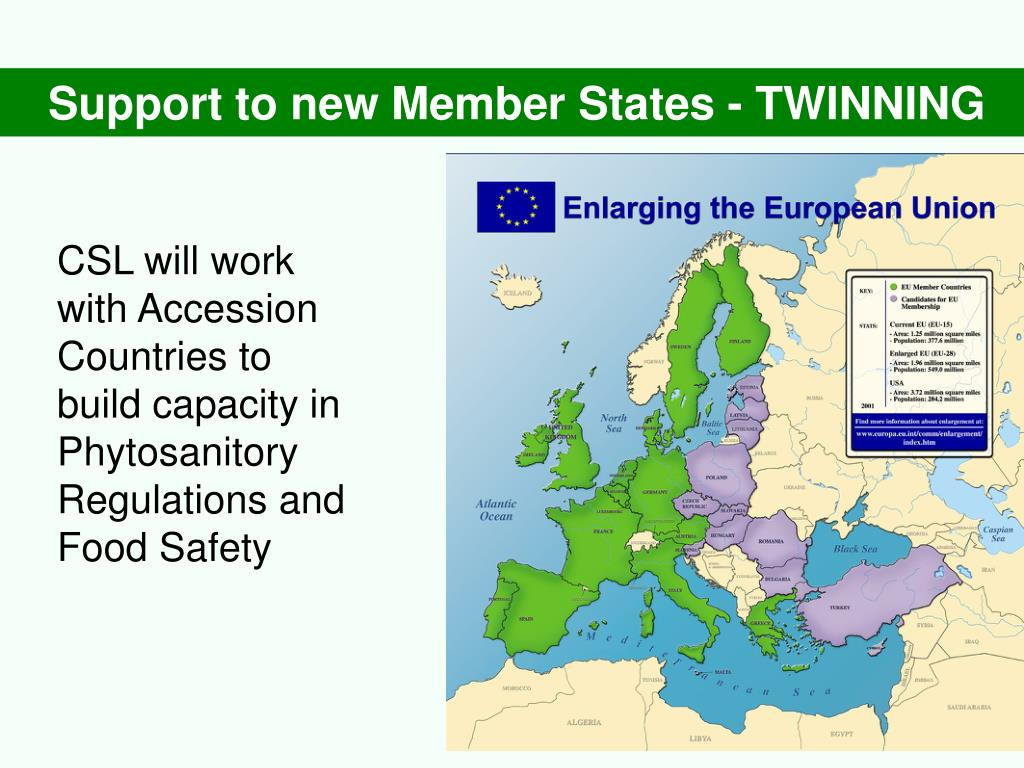 Support to new Member States - TWINNING
