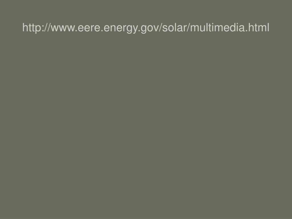 http://www.eere.energy.gov/solar/multimedia.html