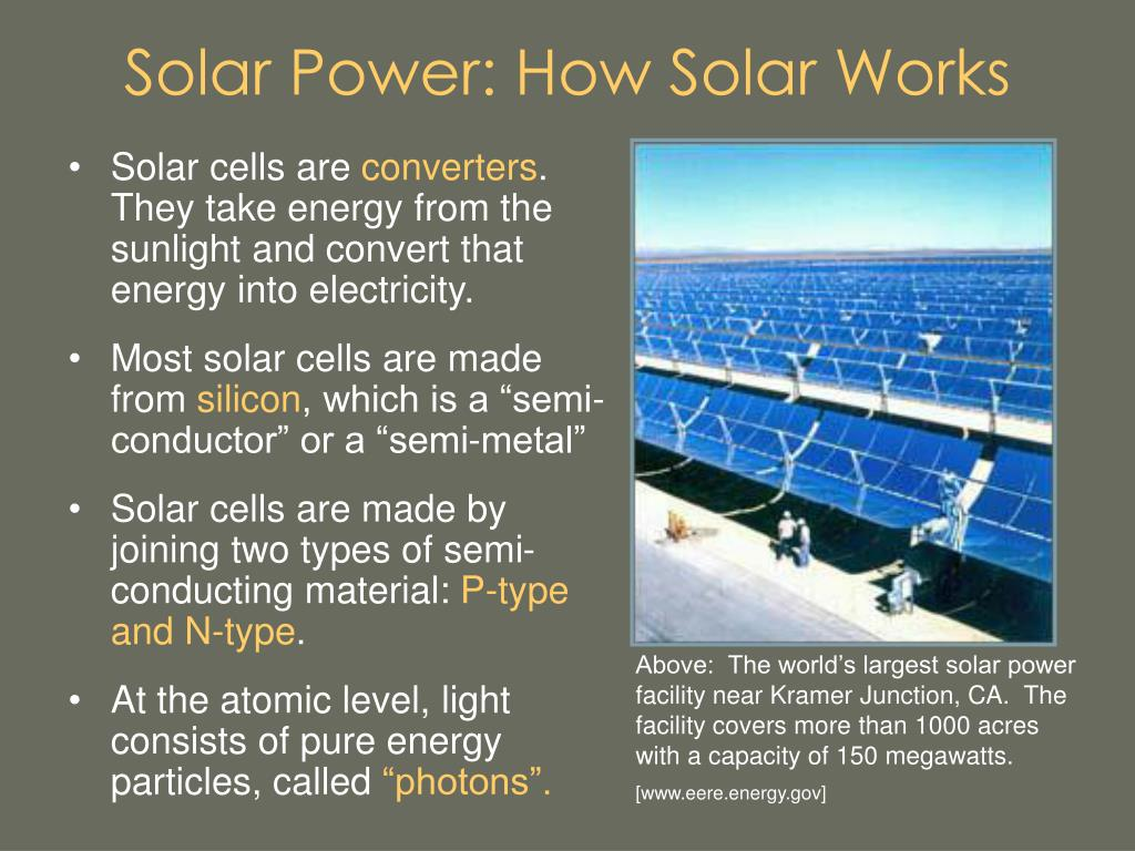 Solar Power: How Solar Works