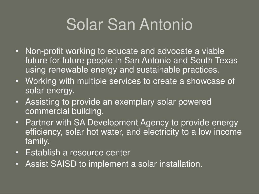 Solar San Antonio