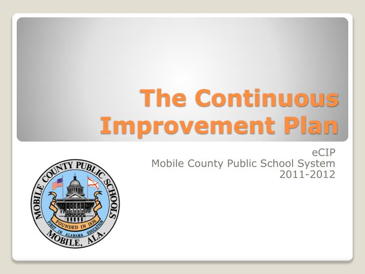 the continuous improvement plan n.