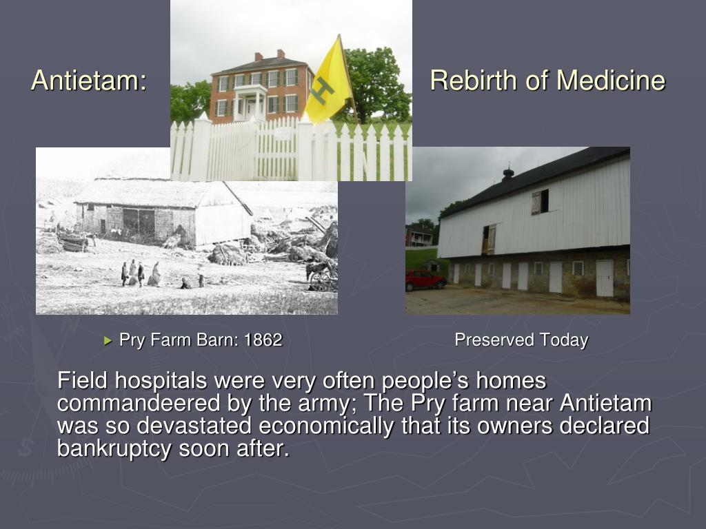 Antietam:       Rebirth of Medicine