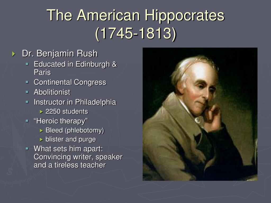 The American Hippocrates