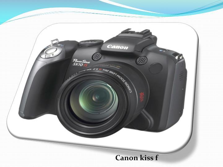 Canon kiss f