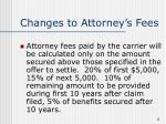 changes to attorney s fees6