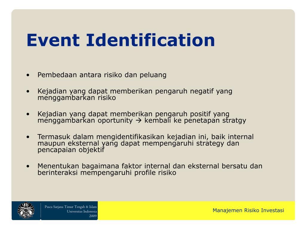 Event Identification