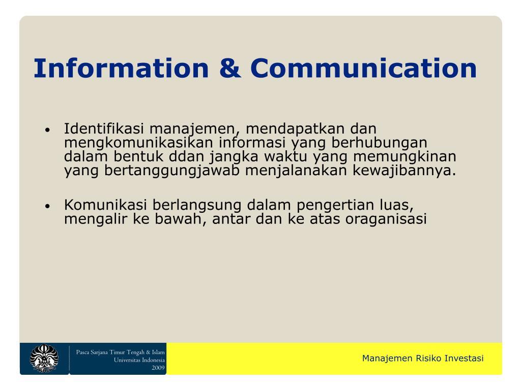 Information & Communication