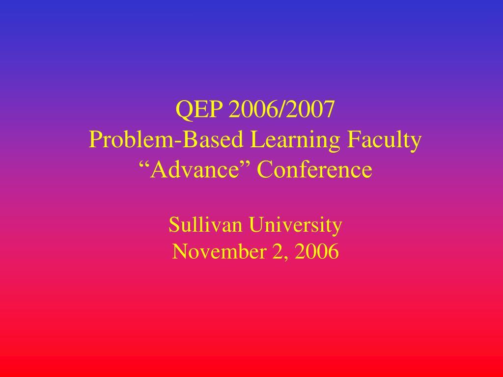 QEP 2006/2007